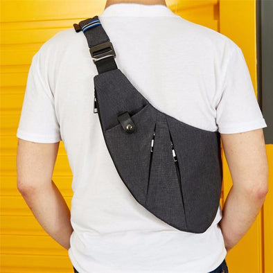 Chest Pack close-fitting Anti Theft Sling Belt - Go Love Shoes