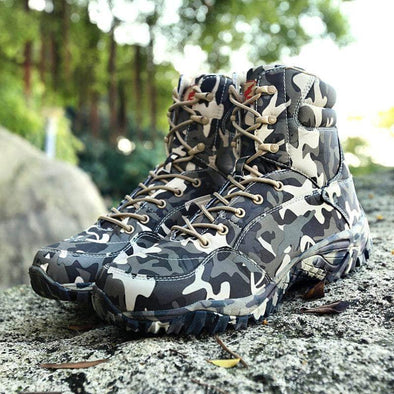 Army Waterproof boots - Go Love Shoes