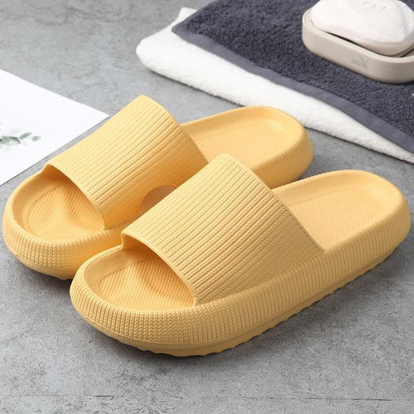 Thick Soft Sole Slippers-US - Go Love Shoes