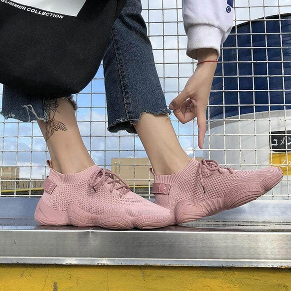 Women Casual Chunky Sneakers - Go Love Shoes