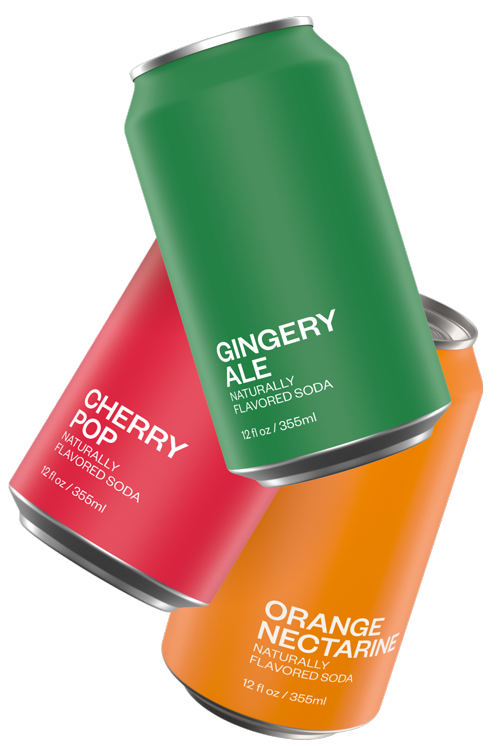 The New Classics | Gingery Ale, Cherry Pop, Orange Nectarine | United Sodas of America
