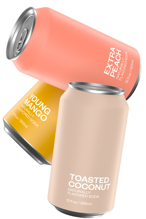 Toga Party | Extra Peach, Young Mango, Toasted Coconut | United Sodas of America