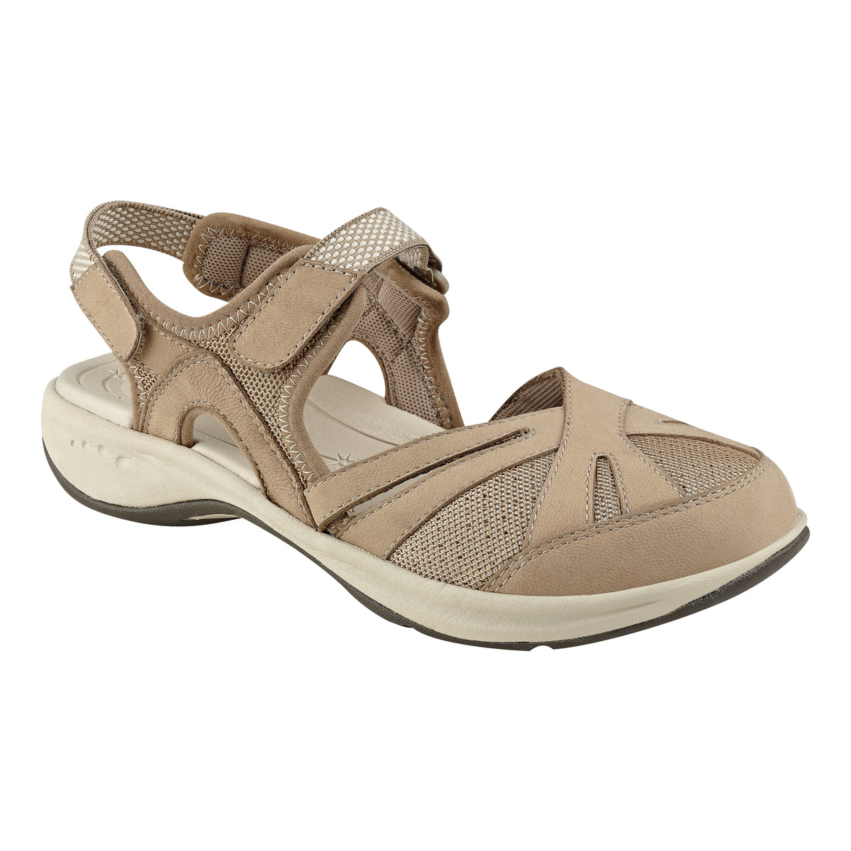 Splash Nubuck Flat Hiking Sandals