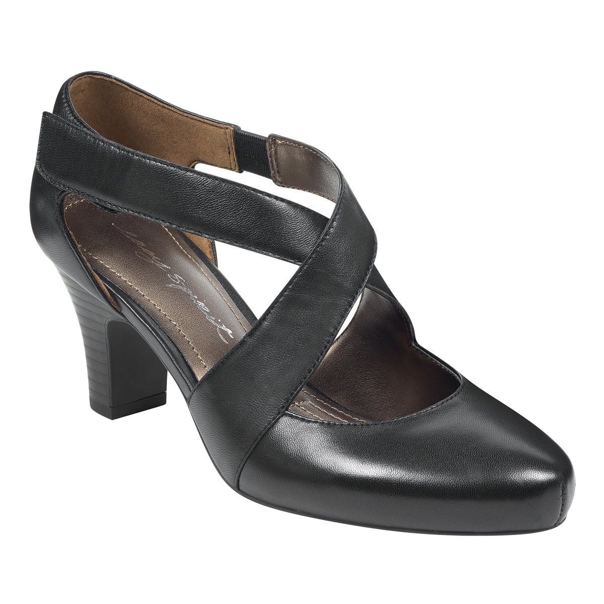 Rovana Leather Pumps