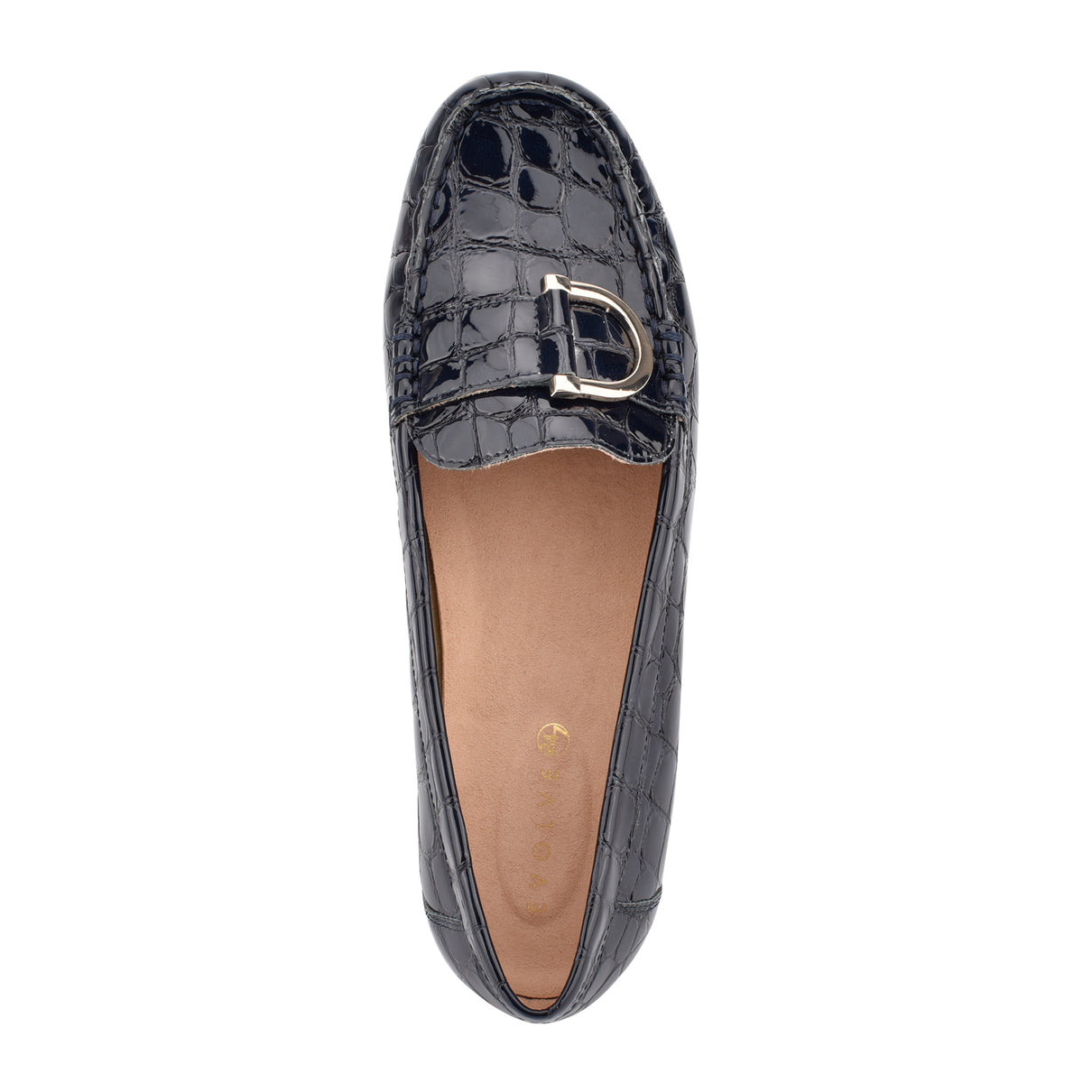 mink-flat-slip-on-loafer-in-navy-croco-embossed-patent