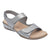 Hartwell Metallic Flat Sandals