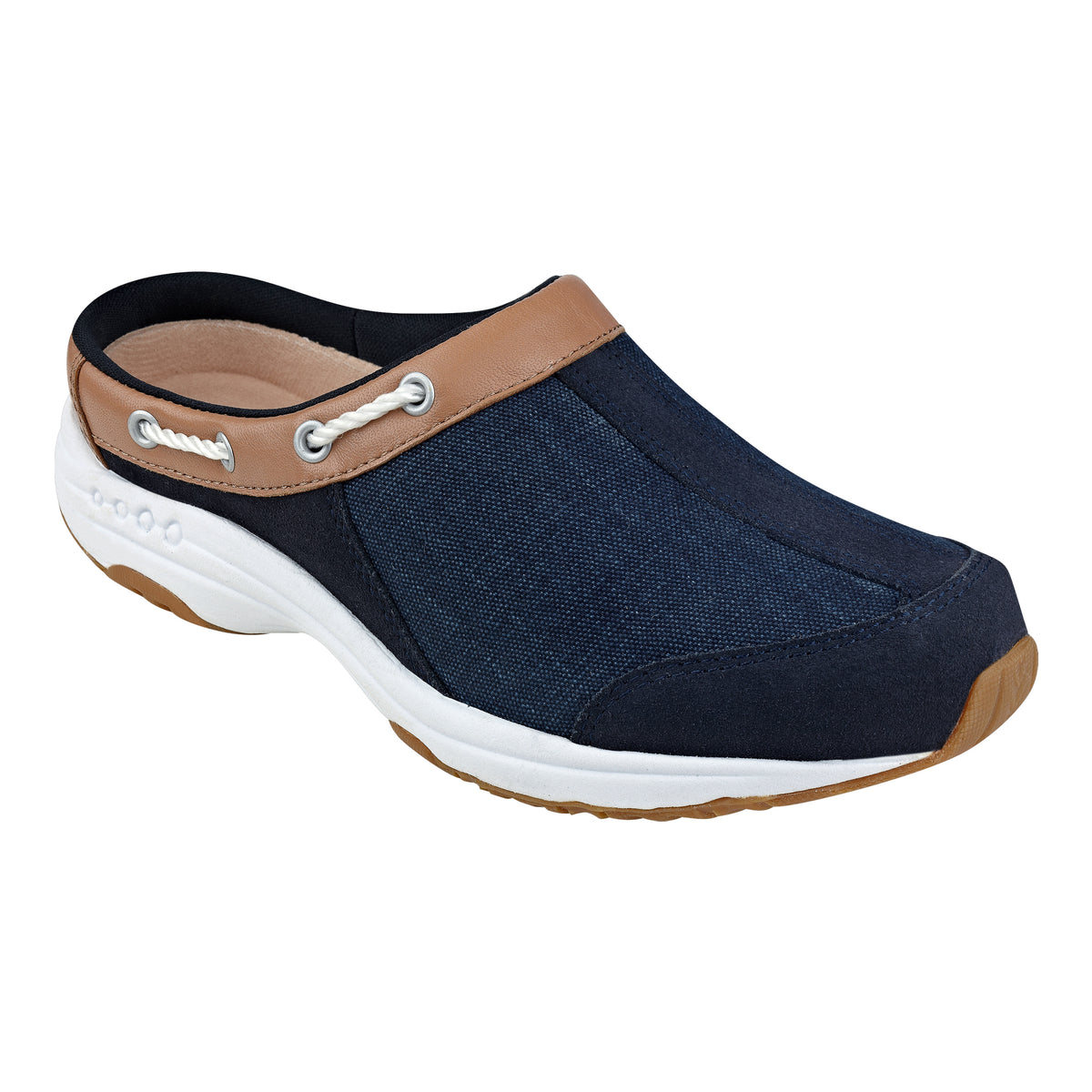 Travelport Denim Clogs