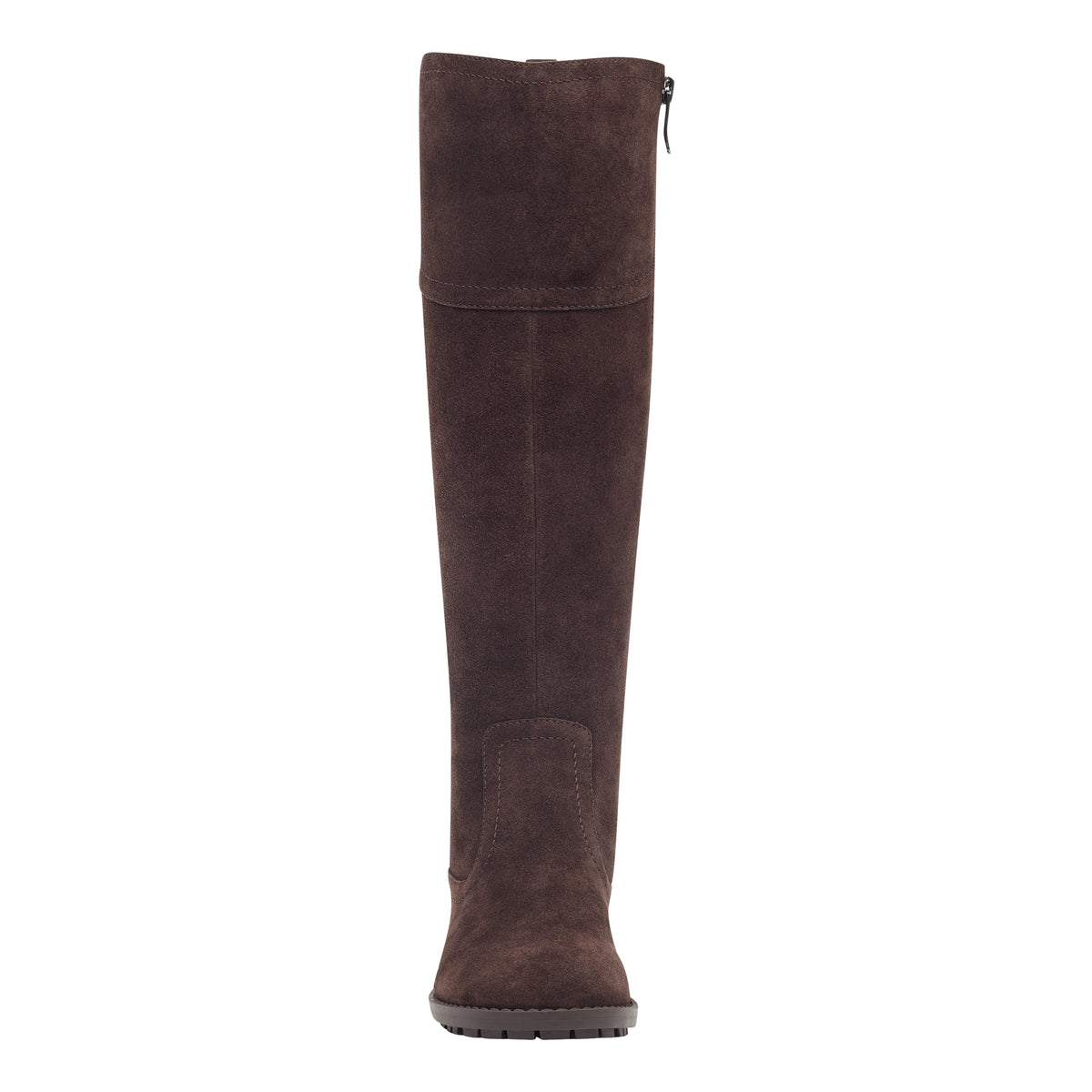 Grazes Wide Calf Tall Heeled Boots