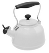 Kettle - White w/ Black Handle