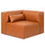 Mix Corner Leather Cognac