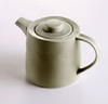 Tea Pot - Green Ceramic