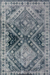 8x10 Pewter Persian Grey