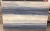 "Savory Shores Blue Streaks Large 40"" X 60"""