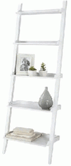 Ladder Wide Rustic White Wash