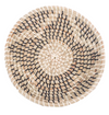 Elmina Medium Seagrass Basket Flower