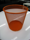 Waste Basket Orange