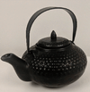 Tea Pot - Black Bumpy