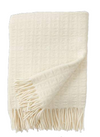 Twist Natural White Greek Key w/ Fringe