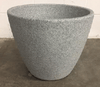 Pot - Large Grey Faux Stone