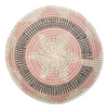 Elmina Medium Seagrass Basket Pink Star