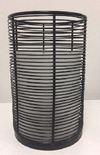 Candle Holder - Black Wire Cylinder Small