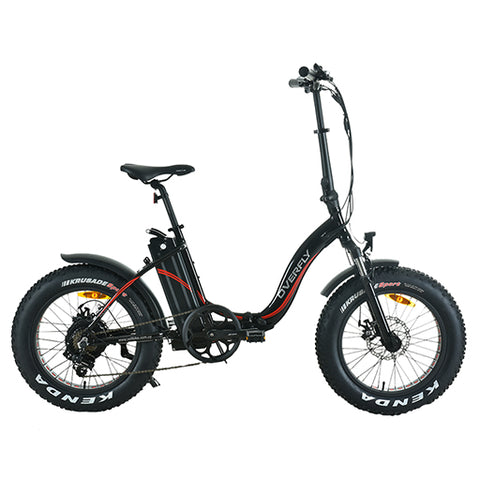 Bicicleta Eléctrica Plegable Overfly New Folding