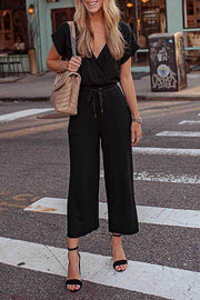 Cropped Ankle Romper