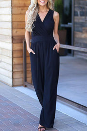 Plain Elegant Jumpsuit