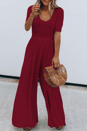 Wide Pant Jumpsuit