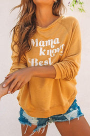 Mama Knows Best Print Shirt