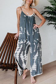 Tie-Dye Sling Pocket Jumpsuit