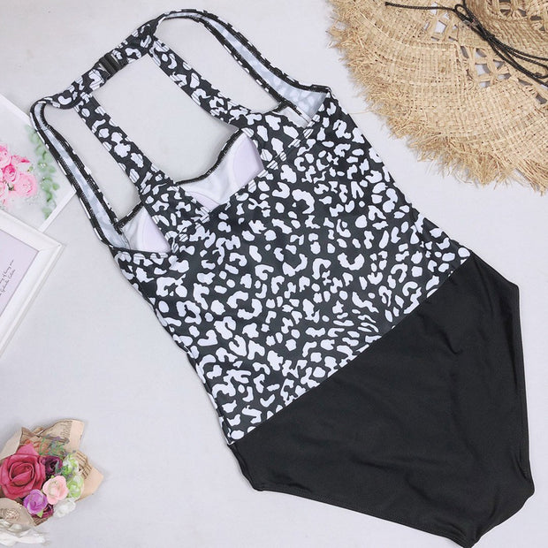 Print Halter One Piece
