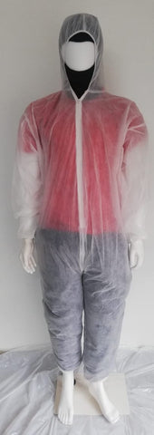 Non woven body protective suit