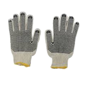 Polka Dot Cotton Gloves