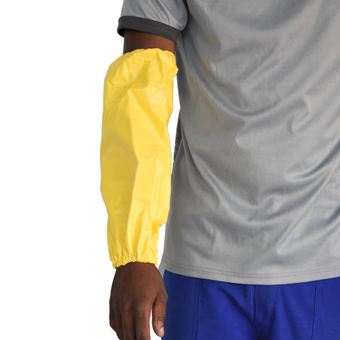 PVC Sleeve Protector Yellow Medium Duty