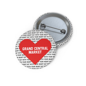 GCM 'Eat With Your Heart' Pin