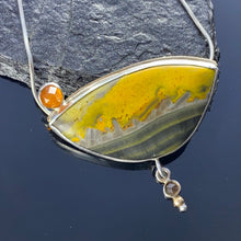 Load image into Gallery viewer, Bumblebee Jasper pendant