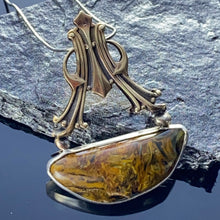 Load image into Gallery viewer, Pietersite pendant