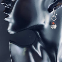 Load image into Gallery viewer, Sterling Cube Earrings
