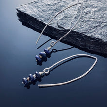 Load image into Gallery viewer, Lapis Lazuli Sterling Earrings