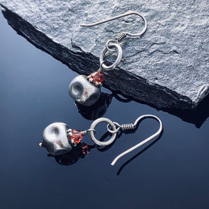Sterling Cube Earrings