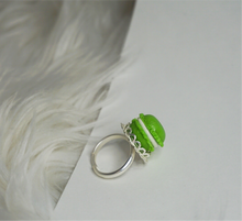 Load image into Gallery viewer, Pistachio macaroon ring