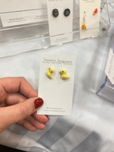 Load image into Gallery viewer, Little duckling earring studs