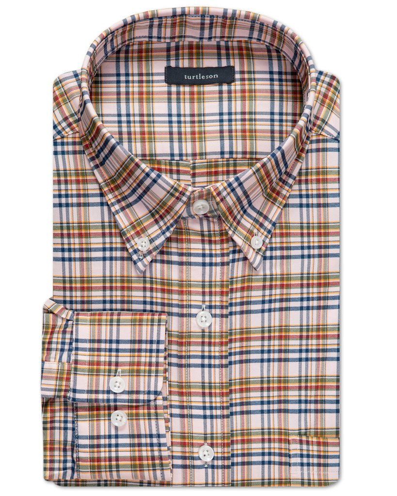 Turtleson - Becket Plaid Performance Sport Shirt