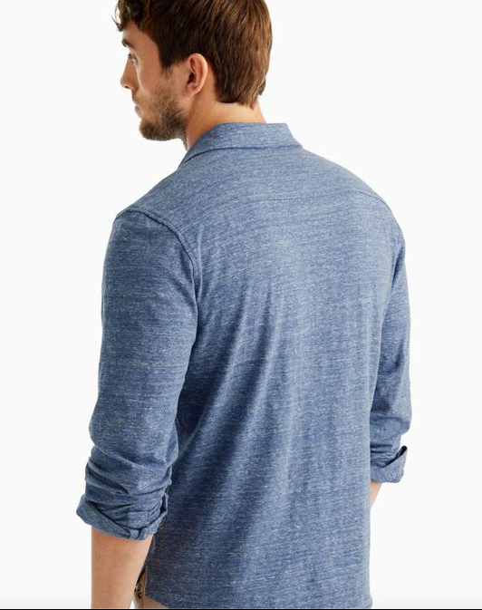 Johnnie-O - Elliot Long Sleeve Popover Shirt