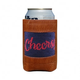 Smathers & Branson - Cheers Needlepoint Can Cooler