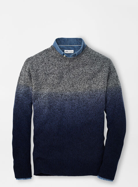 Peter Millar - Wool Blend Dip-Dye Crew Neck Sweater