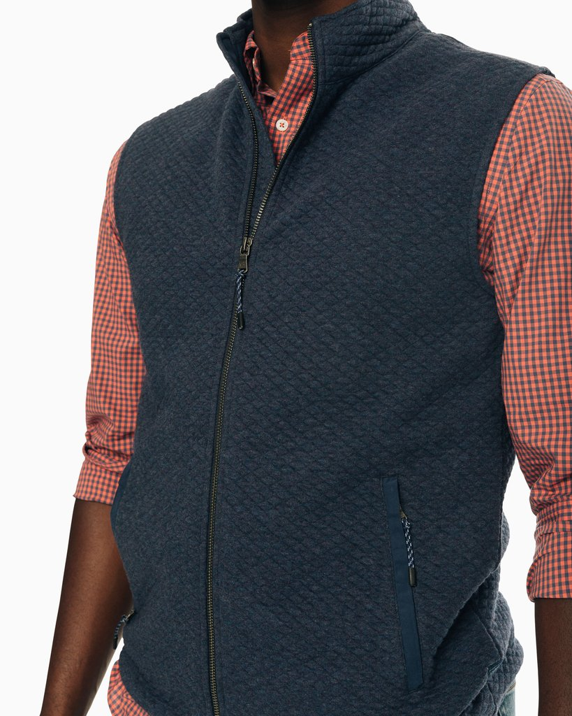 Southern Tide - Sundown Quilted Vest