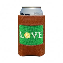 Smathers & Branson - Love All Needlepoint Can Cooler