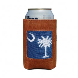 Smathers & Branson - South Carolina Flag Needlepoint Can Cooler